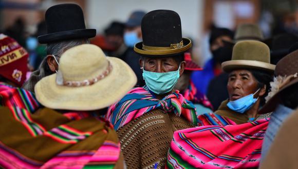 """""""Pensemos, por ejemplo, qué pasa con una mujer indígena o afrodescendiente joven que vive en el ámbito rural"""". (Foto de Ronaldo SCHEMIDT / AFP)."""
