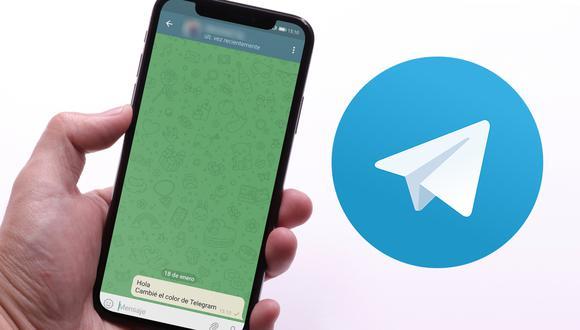 De esta forma podrás cambiar el color de Telegram y lucirla como WhatsApp. (Foto: Mockup)