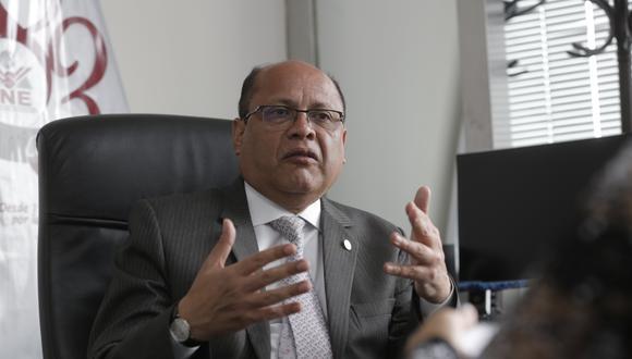 Jorge Rodríguez Vélez, magistrado del JNE, resalta la importancia de que el Parlamento defina las reglas de democracia interna, y recuerda que desde el 2017 la propuesta de su institución es omitir la elección por delegados. (Foto: GEC)