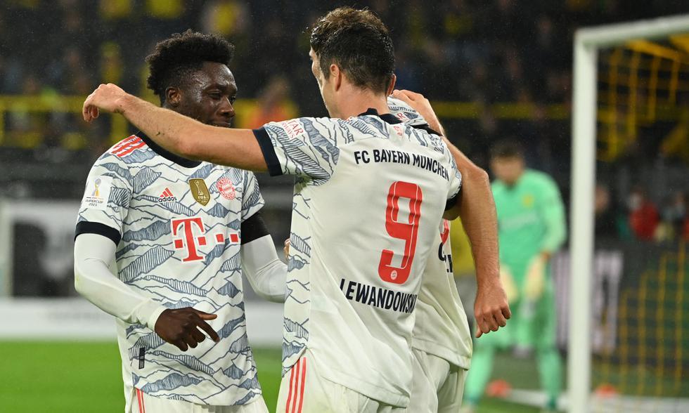 Resultado Dortmund - Bayern: resumen y goles del partido por Supercopa de  Alemania 2021 | Haaland | Lewandowski | España | es | DEPORTE-TOTAL | EL  COMERCIO PERÚ