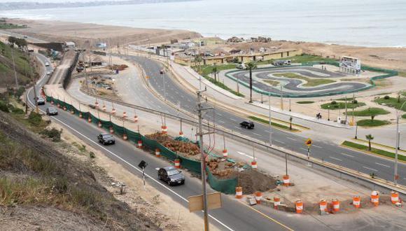 Obras en la Costa Verde: se habilitó la bajada Bertolotto
