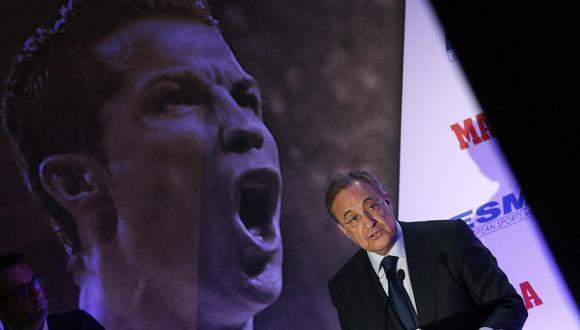 Florentino Pérez apuntó a Cristiano Ronaldo y José Mourinho y los llenó de críticas. (Foto: EFE)