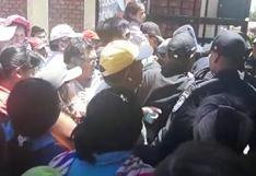 Elecciones 2018: reportan incidentes en local de votación en Huancayo | VIDEO