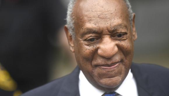 Bill Cosby es el primer famoso enjuiciado y condenado en la era de #MeToo. (AFP)