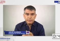 Fact checking: Las afirmaciones de Julio Guzmán en el CADE Electoral sobre las vacunaciones y Sunedu