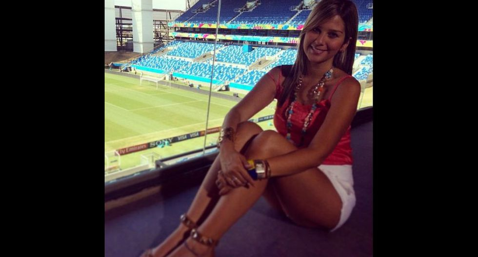 Andrea Guerrero: la hermosa periodista colombiana de ESPN - 1