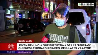 Santa Anita: joven estudiante denuncia que 'peperas' le robaron S/10 mil tras ingresar a discoteca