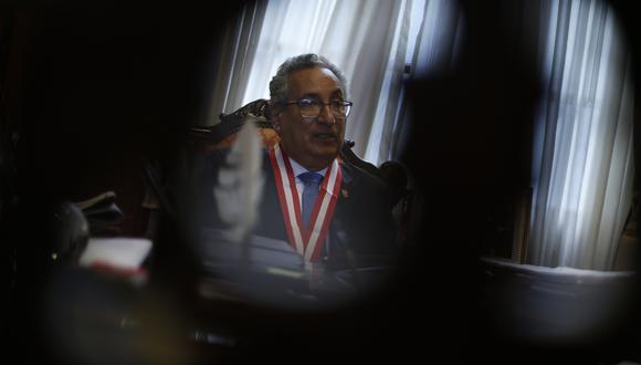 Según la fiscal de la Nación, José Luis Lecaros tenía la obligación de denunciar por presunto tráfico de influencias a exconsejeros. (Foto: Mario Zapata / GEC)