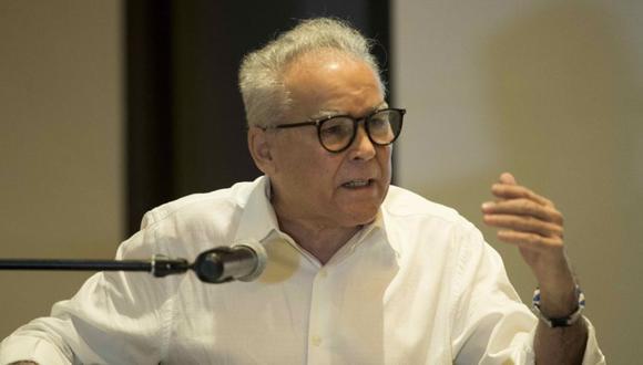 El aspirante presidencial de Nicaragua de la oposición Noel José Vidaurre Argüello, durante una conferencia en Managua (Nicaragua). (Foto: Archivo/ EFE/ Jorge Torres A.)