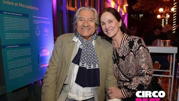 Gerardo Chávez y Bibiana Maza
