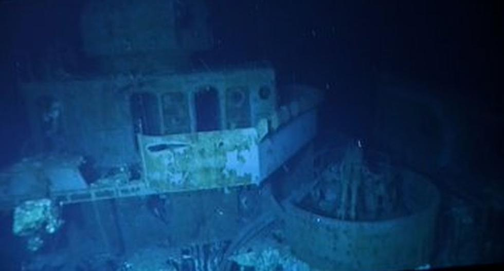 USS Johnston, the US ship of World War II that was found at 6,500 m depth in the Philippines