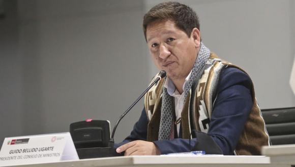 El pasado 15 de setiembre Bellido Ugarte se presentó ante la Comisión de la Mujer para responder preguntas. (Foto: PCM)