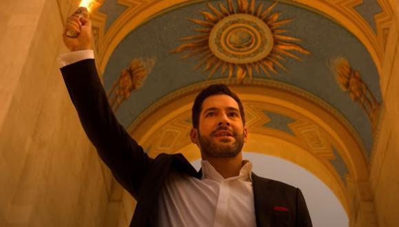 """Tom Ellis se despide de """"Lucifer"""" en esta sexta temporada. (Fuente: Netflix)"""