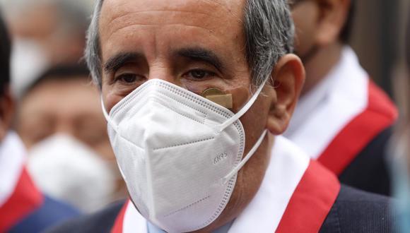 Ricardo Burga, vocero de Acción Popular. (Foto: Fernando Sangama/ GEC)