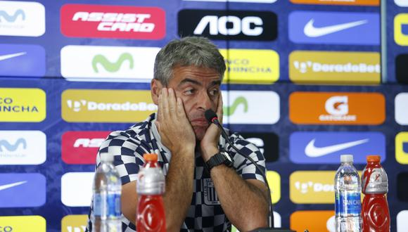 Pablo Bengoechea se refirió al descenso de Alianza Lima. (Foto: GEC)
