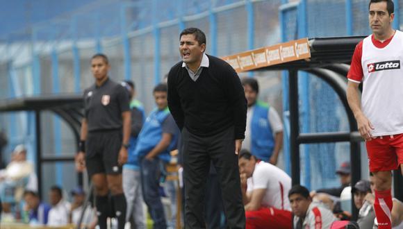 Jorge Espejo dirigió el año pasado a Unión Huaral en la Liga 2. (Foto: Andina)