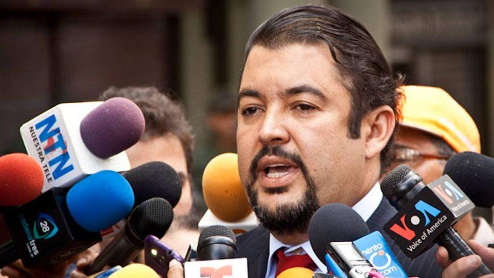 Roberto Marrero, jefe de despacho de Juan Guaidó.