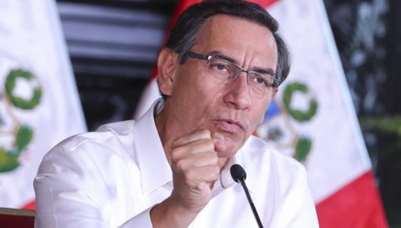 El presidente Martín Vizcarra aseguró que el Bono Familiar Universal se entregará a los sectores urbano y rural. (Foto: GEC)