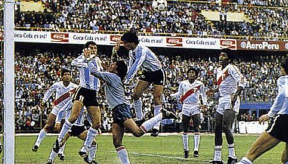 Perú vs. Argentina de 1985.
