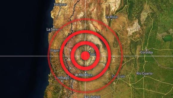 Terremoto de magnitud 6,8 sacude Argentina y se siente en San Juan, Mendoza y gran parte del país.