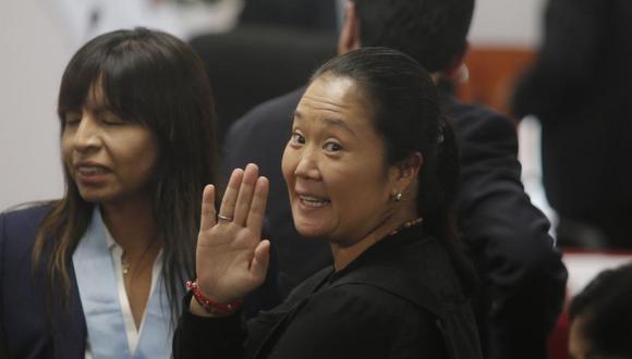 Hace un año, Keiko Fujimori, lideresa de Fuerza Popular, fue recluida en el penal Anexo Mujeres de Chorrilos (Foto: GEC)