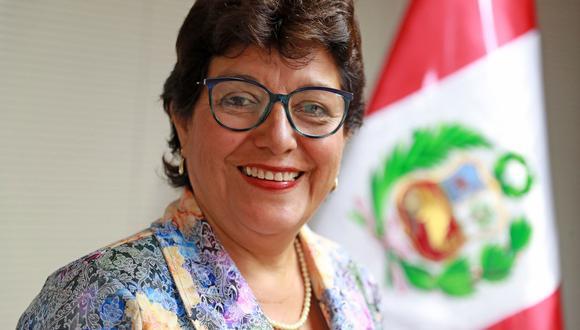 Flor Luna Victoria. (Foto: Andina)