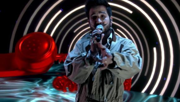 """Camilo presentó su tema """"Ropa cara"""" en el programa de Jimmy Fallon. (Foto: Captura de YouTube)"""