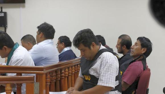 """La organización criminal """"Los injertos de Huarmey"""" tiene acusaciones por extorsión, marcaje, tenencia ilegal de armas y usurpación agravada (Foto: Poder Judicial)"""