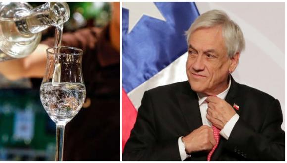 """El presidente Piñera reconoció que existe una """"diferencia de opinión"""" sobre quién es el dueño de la denominación de origen """"pisco"""" entre ambos países."""