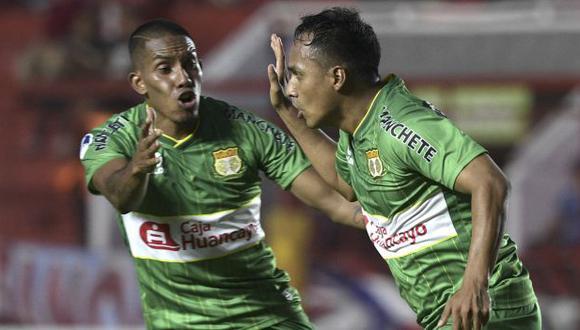 Sport Huancayo eliminó a Argentinos Juniors en la primera fase de la Copa Sudamericana. (Foto: AFP)