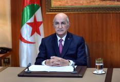 Presidente argelino libera a detenidos del movimiento de protestas Hirak y convoca elecciones