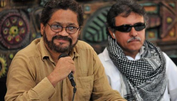 Márquez y Santrich fueron líderes negociadores de las FARC en los diálogos de La Habana. (Foto: GETTY IMAGES, vía BBC Mundo).