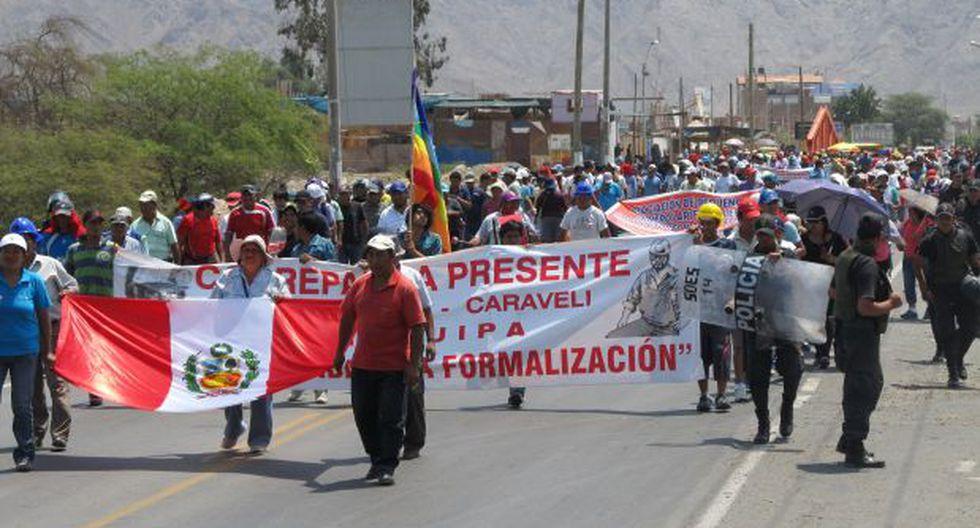 Mineros de Puno logran un acuerdo para levantar el paro