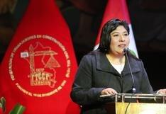 Betssy Chávez: oposición cuestiona a ministra por contradicción sobre relación con Rodolfo Orellana