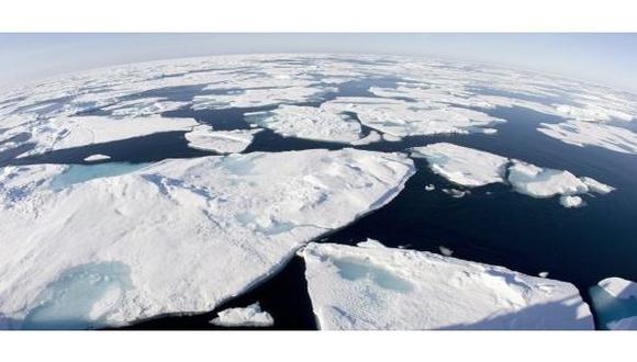 Reducción de la capa de hielo del Ártico es la mayor desde 1970