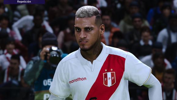 Miguel Trauco en PES 2021 con la camiseta de Perú. (Captura de pantalla)
