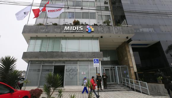 Ministerio de Desarrollo e Inclusión Social (Midis). (Foto: USI)