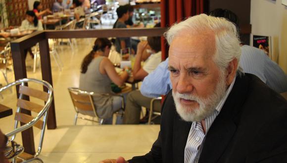 Ricardo Blume: Ministerio de Cultura lamenta muerte de actor peruano. (Foto: Karen Zárate para El Comercio)