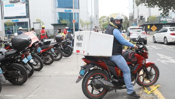 San Borja emitió norma parra regular el reparto de mercadería por delivery. (Foto: GEC)