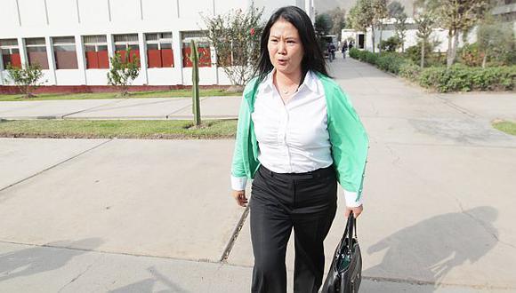 Keiko Fujimori lidera intención de voto, según sondeo de la UNI