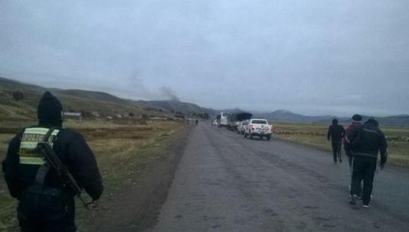 Puno: asaltan a periodistas en ruta Sandia - Juliaca