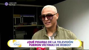 Famosos de la TV peruana que fueron víctimas de robos