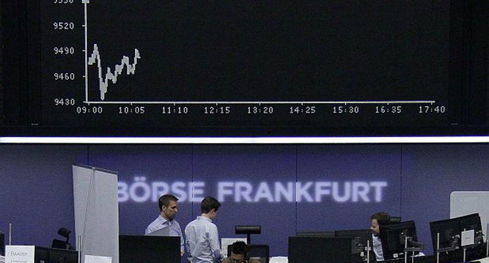 Bolsas de Europa cerraron mixtas a la espera de dato de EE.UU.