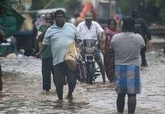 Ciclón Nivar inunda calles y deja sin luz partes del sur de India | FOTOS