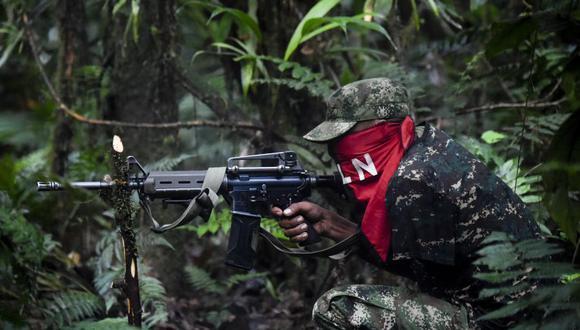 El presidente Iván Duque lamentó el ataque y acusó a una unión entre el ELN y los exmiembros de la otrora FARC que no dejaron las armas. (Foto Referencial: Raúl ARBOLEDA / AFP).