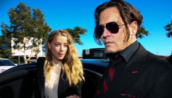 Se difunde audio en el que Amber Heard admite haber pegado a Johnny Depp. (Foto: AFP)
