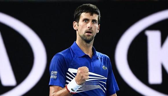 Novak Djokovic ganó a  Rafael Nadal y es el campeón del Australian Open. (Foto: AFP).