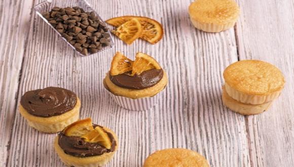 Cupcakes de choconaranja