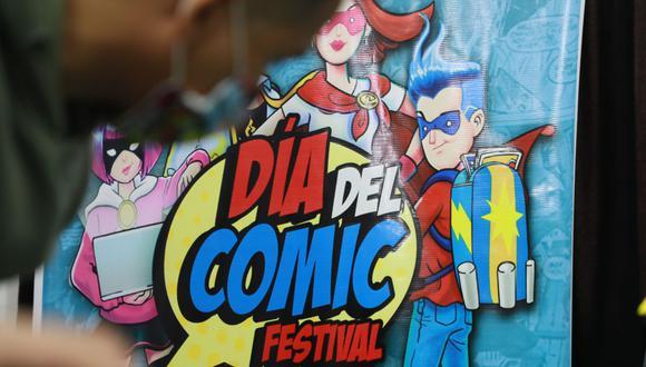 El Día del Cómic Festival se celebrará de manera digital entre el 31 de octubre y el 1 de noviembre. (Foto: Juan Ponce Valenzuela/El Comercio)