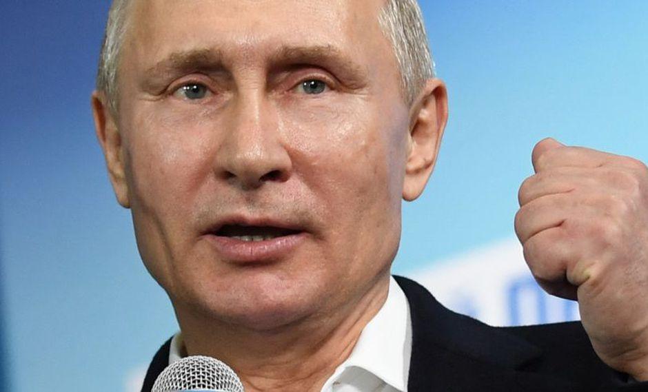 Vladimir Putin negó que Rusia tenga en su poder armas químicas. (Foto: AFP)